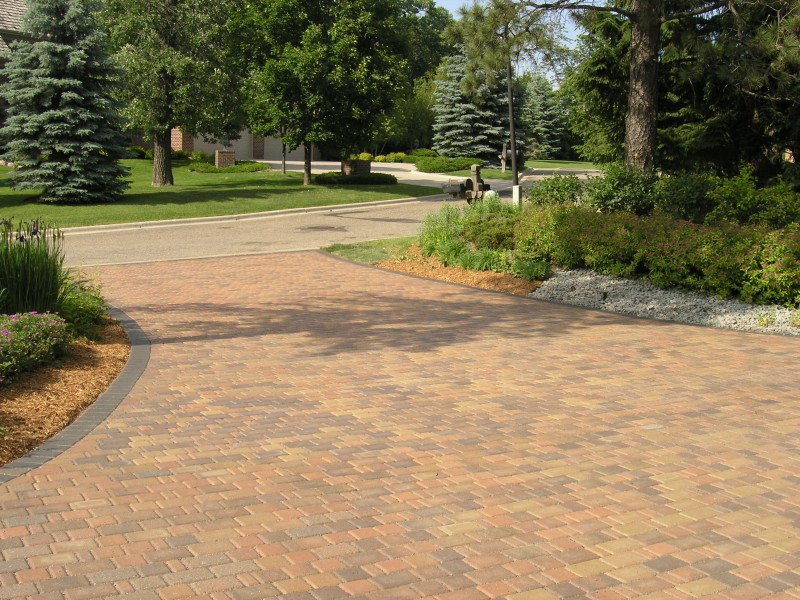 Brick and concrete driveway 2017 2018 best cars reviews for New driveway ideas