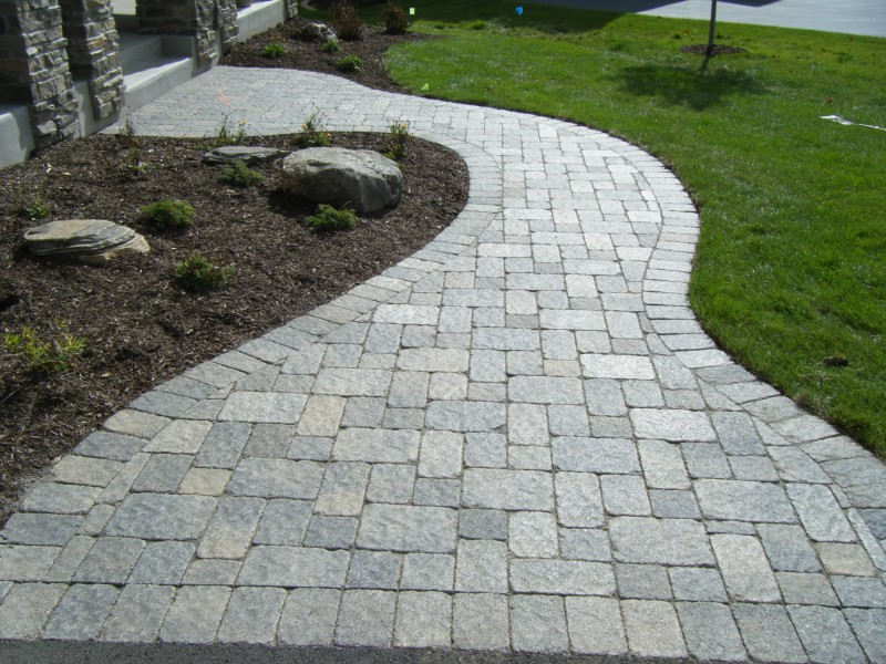 How To Install Brick Or Paver Walkway