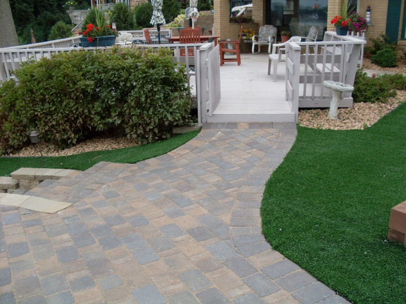 Driveway, Patio And Walkway Landscaping In Annandale, Minnesota And  Surrounding Areas