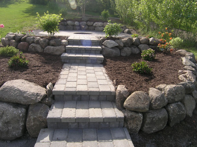 Fire Pits Landscape Company In Western Twin Cities Metro Area Minnesota.  Circular Paver Patio Kit Um ...