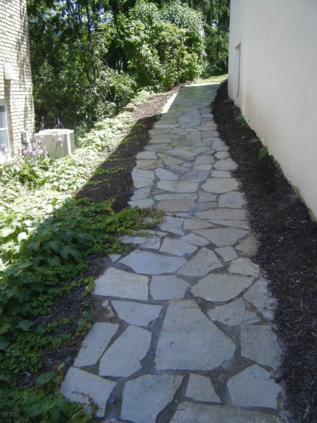 Irregular Flagstone Sidewalk With Polymeric Sand, Minneapolis Irregular Flagstone  Patio ...