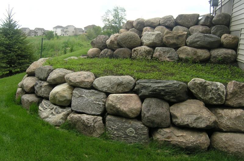 Naturalistic Rock Wall Buffalo
